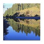 South Fork Eel River California Tile Coaster