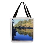 South Fork Eel River California Polyester Tote Bag