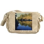 South Fork Eel River California Messenger Bag