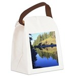 South Fork Eel River California Canvas Lunch Bag