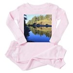 South Fork Eel River California Toddler Pink Pajam