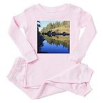 South Fork Eel River California Baby Pink Pajamas