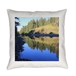 South Fork Eel River California Everyday Pillow