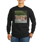 Elk at Prairie Creek Redwoods Long Sleeve T-Shirt