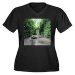 Fern Canyon Plus Size T-Shirt