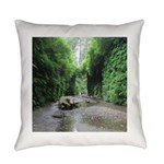 Fern Canyon Everyday Pillow