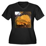 Chicken of the Woods Plus Size T-Shirt