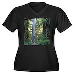 Big Tree Plus Size T-Shirt