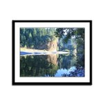Eel River Humboldt California Framed Panel Print