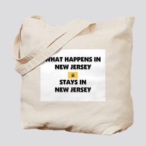 What Happens In NEW JERSEY Stays There Tote Bag