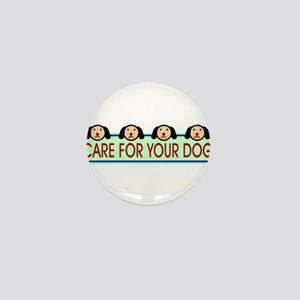Dog Lovers Mini Button