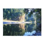 Eel River Humboldt California 5'x7'Area Rug
