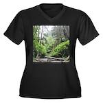 Fern Canyon Redwoods Plus Size T-Shirt