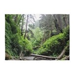 Fern Canyon Redwoods 5'x7'area Rug