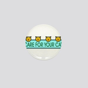Care For Your Cat Mini Button