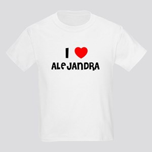I LOVE ALEJANDRA Kids T-Shirt