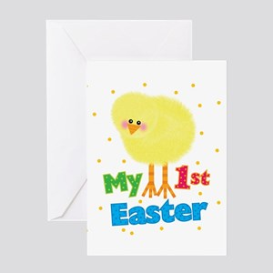 My 1st Easter Greeting Card