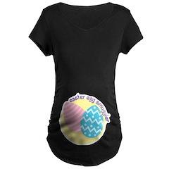 Easter Egg Smuggler Dark Maternity Tee