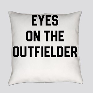 Eyes on the outfielder Everyday Pillow