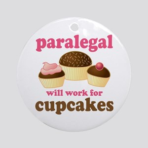 Funny Paralegal Ornament (Round)