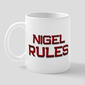 nigel rules Mug