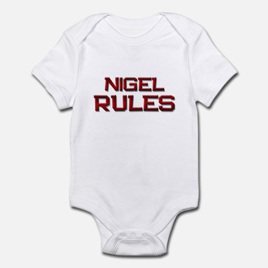 nigel rules Infant Bodysuit