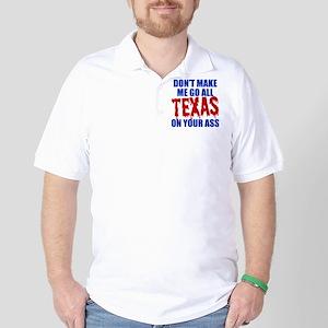 Texas Baseball Golf Shirt