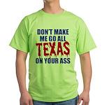 Texas Baseball Green T-Shirt