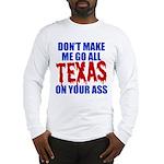 Texas Baseball Long Sleeve T-Shirt
