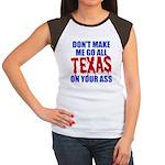 Texas Baseball Women's Cap Sleeve T-Shirt