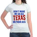 Texas Baseball Jr. Ringer T-Shirt