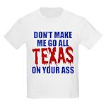 Texas Baseball Kids Light T-Shirt