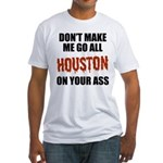 Houston Baseball Fitted T-Shirt