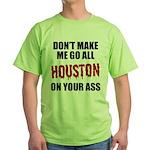 Houston Baseball Green T-Shirt