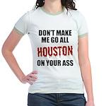 Houston Baseball Jr. Ringer T-Shirt