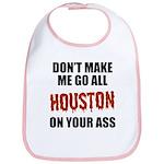 Houston Baseball Bib