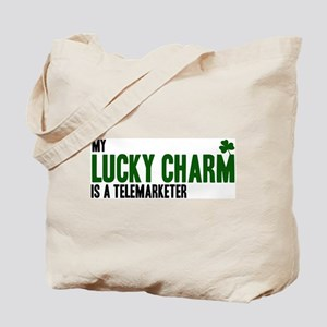 Telemarketer lucky charm Tote Bag
