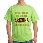 Arizona Baseball Green T-Shirt