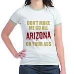 Arizona Baseball Jr. Ringer T-Shirt