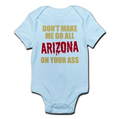 Arizona Baseball Infant Bodysuit