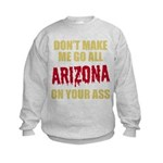 Arizona Baseball Kids Sweatshirt