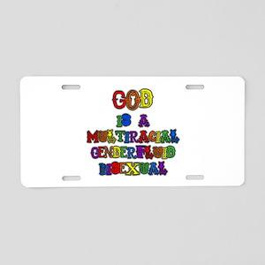 God is a Multiracial Genderfluid Bisexual Aluminum