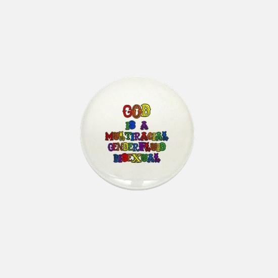 God is a Multiracial Genderfluid Bisexual Mini But