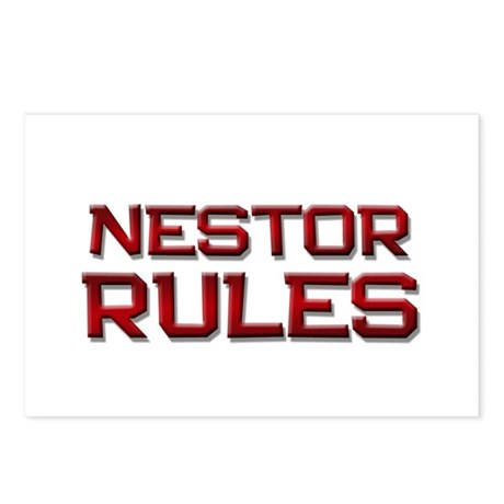 nestor rules Postcards (Package of 8)