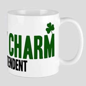 Superintendent lucky charm Mug