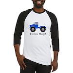 Farm Boy Tractor Baseball Tee