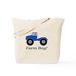 Farm Boy Tractor Tote Bag