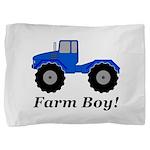 Farm Boy Tractor Pillow Sham