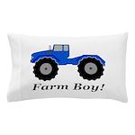 Farm Boy Tractor Pillow Case