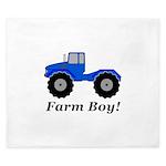 Farm Boy Tractor King Duvet